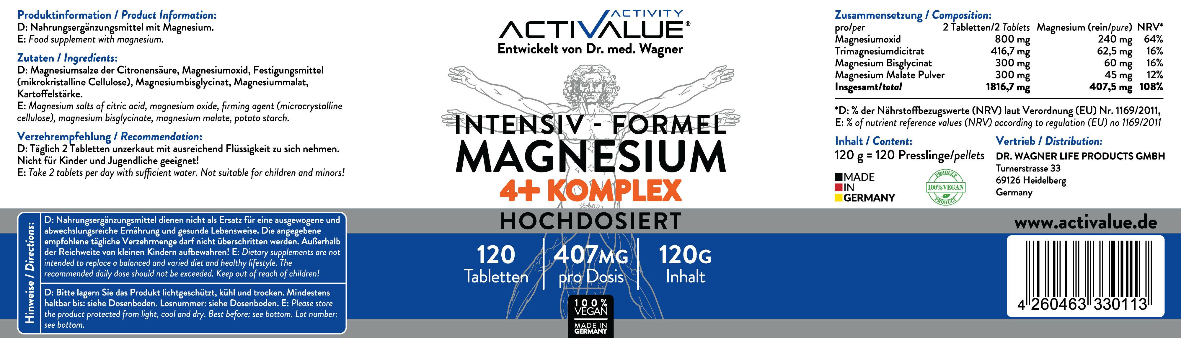 ACTIVALUE-MAGNESIUMKOMPLEX_Label
