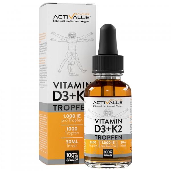 VITAMIN D3+K2 Tropfen